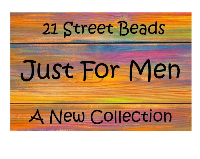Handcrafted Jewelry For Men - Necklace & Bracelets - One of a Kind-Unique Gift - Nine Styles
