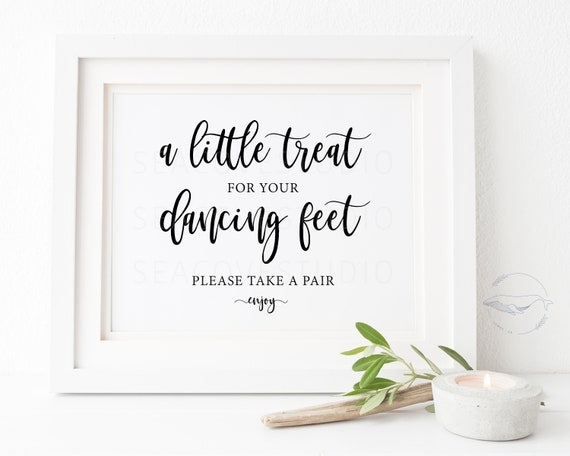 Dancing Shoes Sign wedding signs dance floor printable Swap Your Excuses For Some Dancing Shoes and Meet Us On The Dance Floor