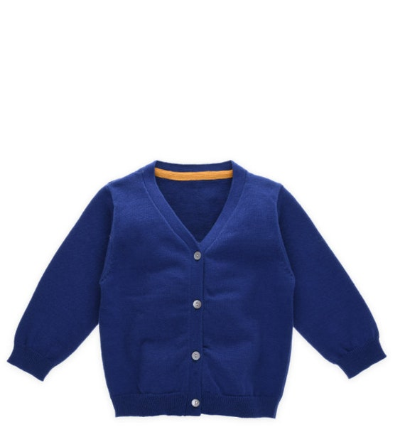 e474997e30a8 Baby Cotton Cardigan Jacket Boy Girl Lovely Knitted Long