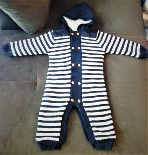 f5628092f13 Christmas Winter Romper Baby Boy Girl Lovely Knitted Cotton