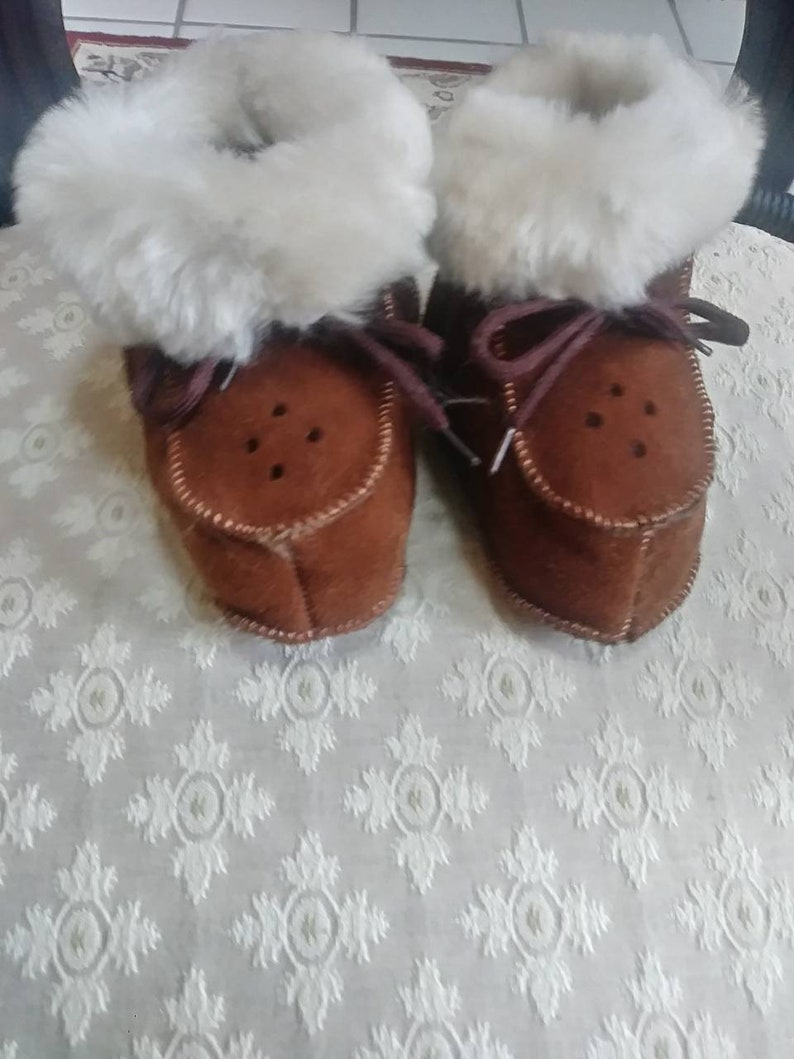 87d50448d19 100% Australian Shearling Baby Toddlers Booties Shoes UGGs