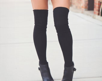 15f0b2b74d4 Thigh Highs Thigh High Socks Gift Idea Over Knee Unique Valentines Day Heart