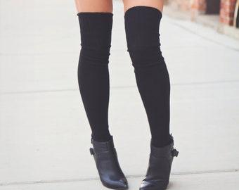 18de89bd7 Over the Knee Thigh Highs Thigh High Socks Gift Womens Girls Teens Outfit