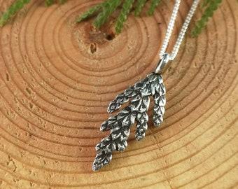 Small Cedar Leaves Jewelry Casting