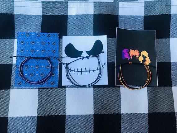 Haunted Mansion Themed Adjustable Bracelet Halloween Disney