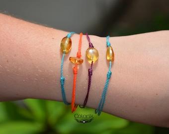 Friendship Bracelets, amber bracelet, multicolor bracelet