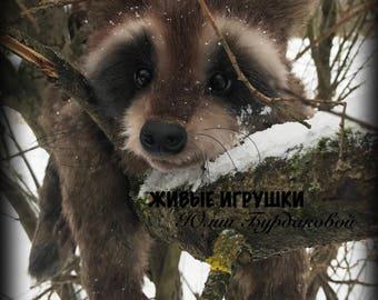 Stuffed Raccoon Etsy