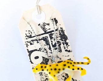 A Lightning-Fast, Cheetah, Toy, Necklace