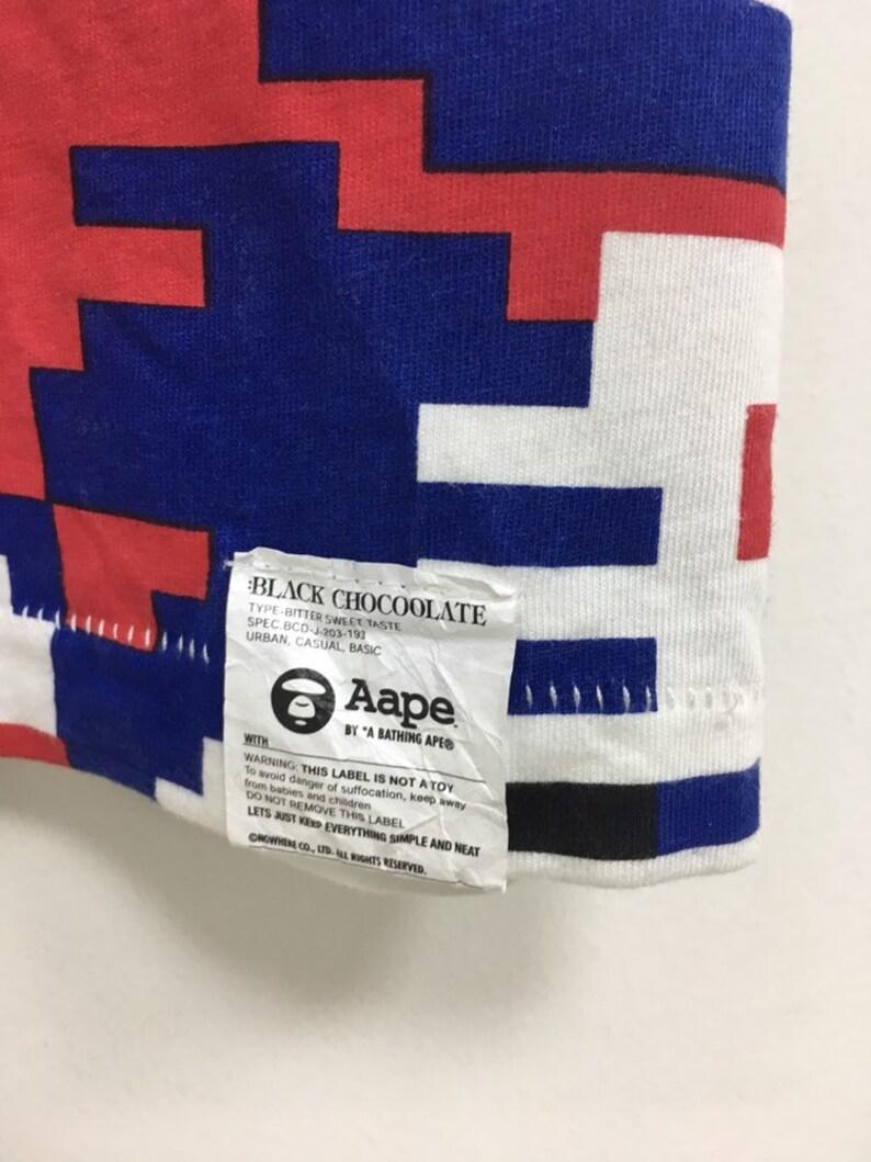 873a7bf6e6708 Bathing ape x chocolate x nigo digital print bape face