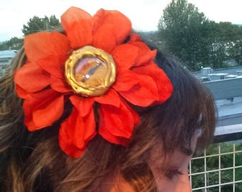 Eyeball Flower Headband