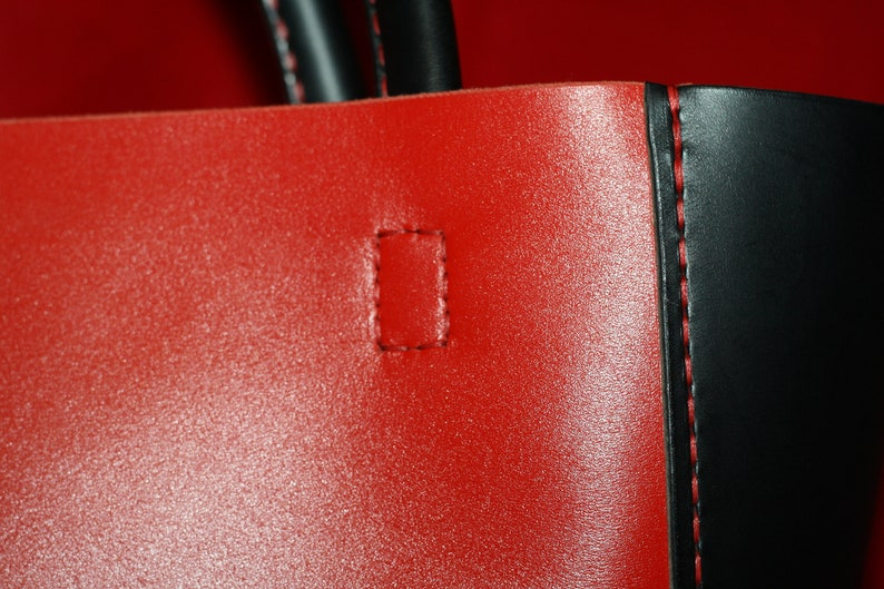 tote leather tote tote bag leather shoulder bag leather purse Red Leather bag leather handbags leather bag leather tote red leather