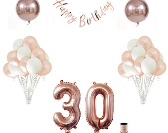 30th Birthday Balloon Decoration Set