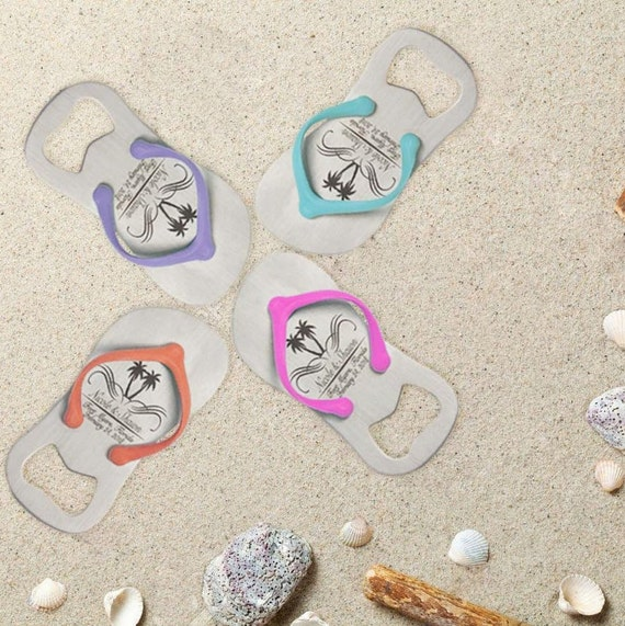 037b73ac9044a7 35 Personalized Flip-Flop Bottle Openers