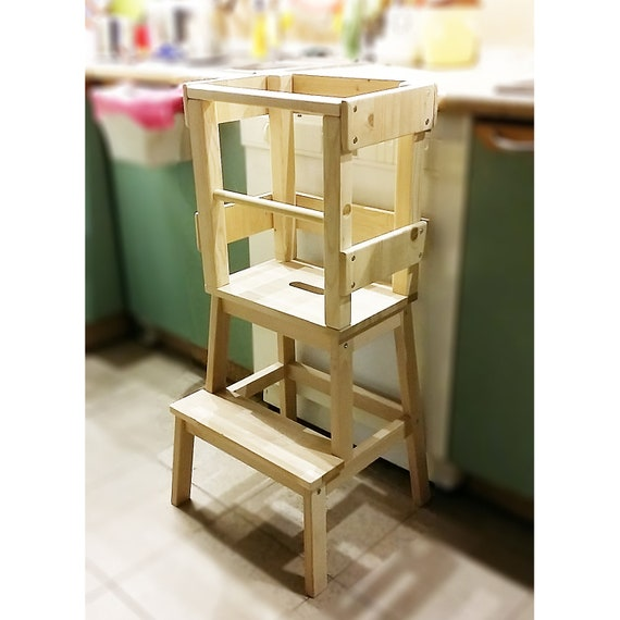 Learning Tower Kitchen Helper Little Helper Tower Learning Stool Step Stool For Toddler Montessori