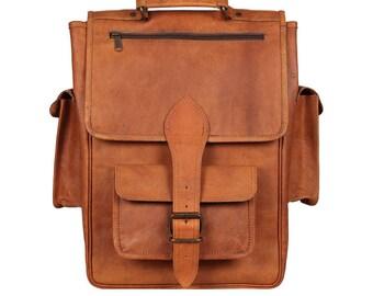Vintage Rectangle Backpack