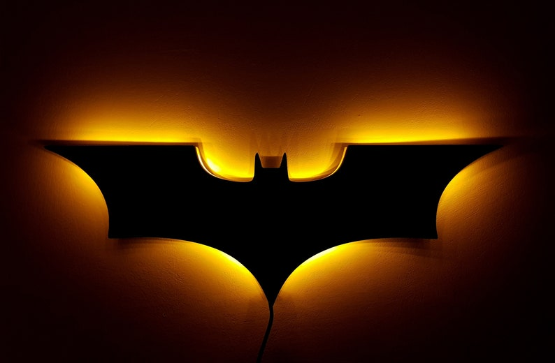 Batman Nacht Leuchtet Led Batman Logo Bat Signal Superhelden Logo