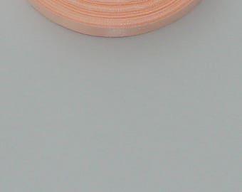 25 m width 10mm pink/orange satin ribbon light