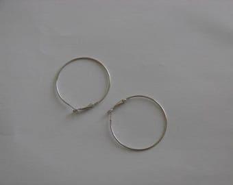 Ref: BOPP 902-4 earrings Platinum Rings