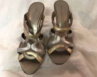 0ca73dc33f6ec2 Silver and Gold Shoes