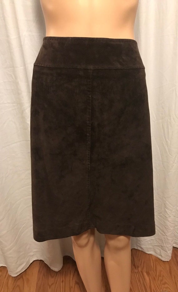 Fabulous Skirt, Brown Suede Skirt, Quality Skirt,