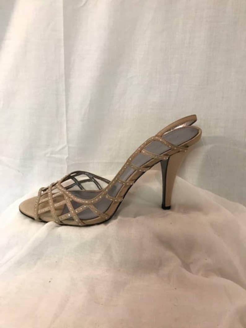 eab09c9951124 Shoes By Calvin Klein Beige 4 High Heels Ladies 9.5 M