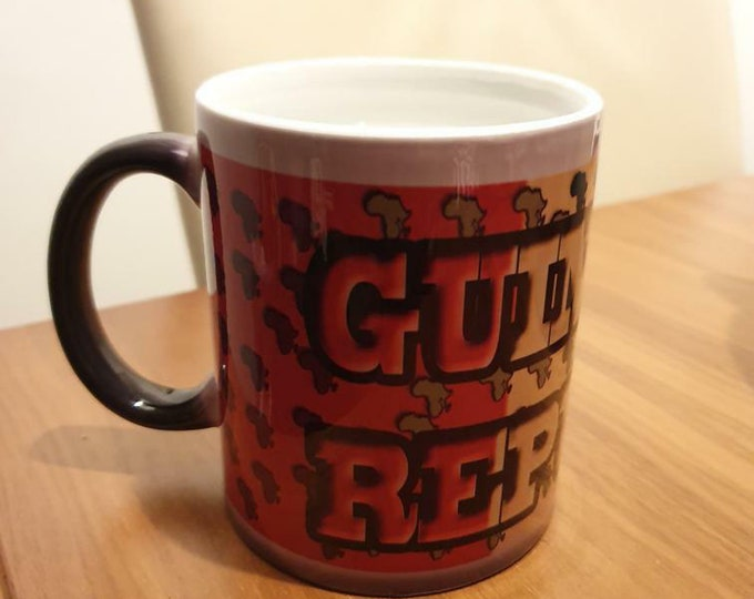 Guinea Republic heat and reveal mug