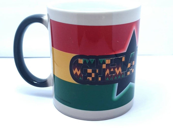 Ghana heat and reveal mug