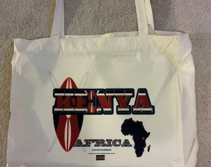Kenyan Tote Bag