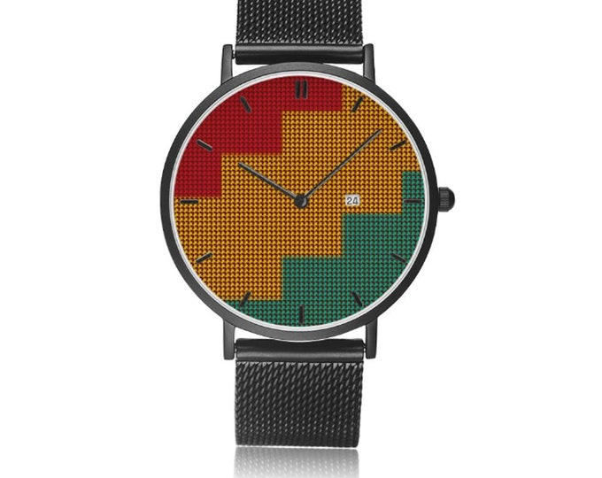 Luxury Fatene Kente Watch