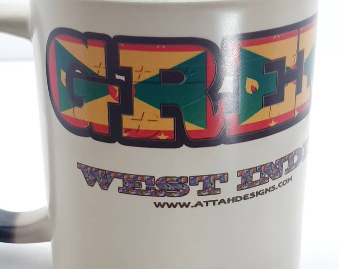 Grenada heat and reveal mug