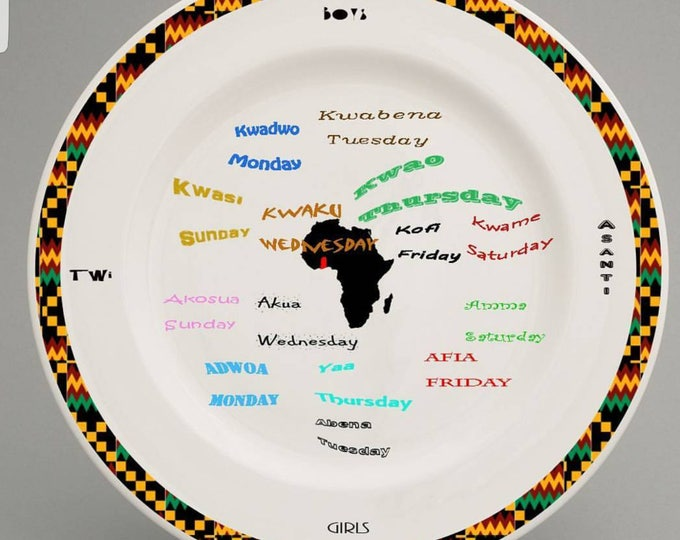 Ghanaian children's plate