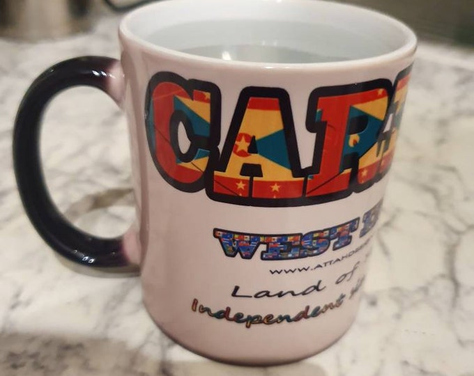 Carriacou heat and reveal mug