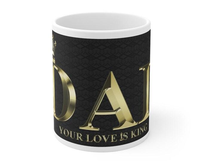 King Dad Mug 11oz