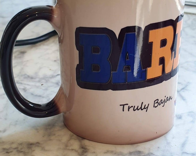 Barbados heat and reveal mug