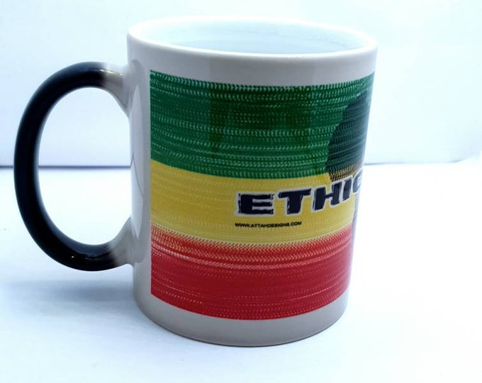 Ethiopian heat and reveal mug