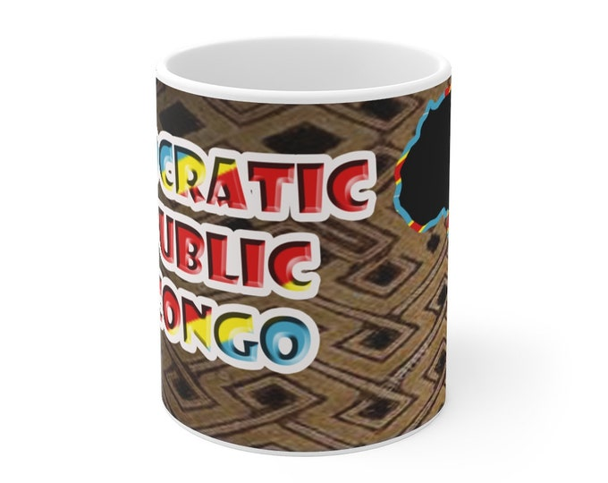 Democratic Republic of Congo Mug 11oz