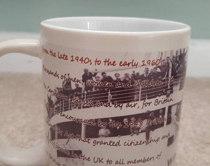 Windrush heat and reveal mug