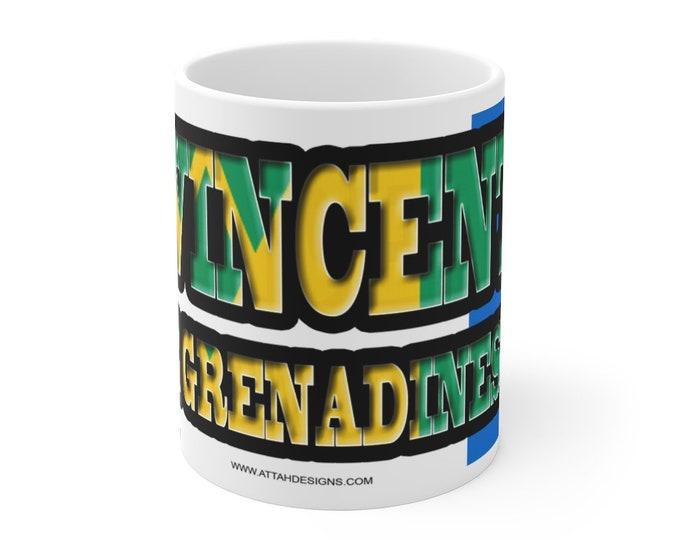 St Vincent & the Grenadines Mug 11oz