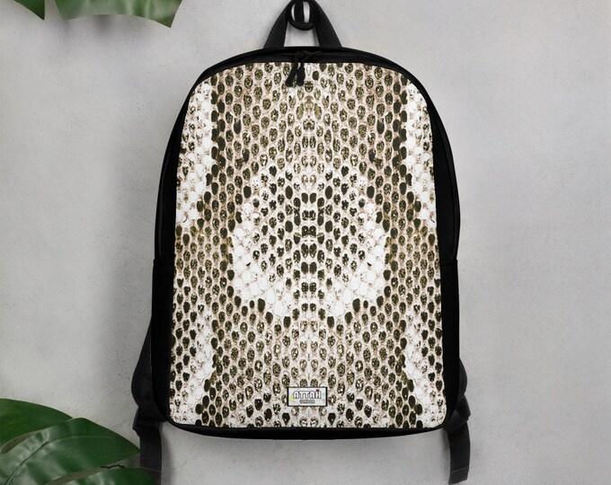 Python Snake Skin Minimalist Backpack