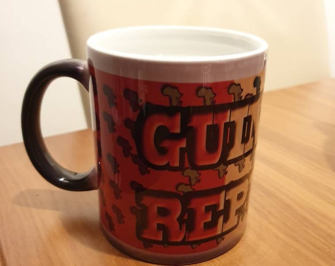 Guinea republic heat and reveal mug
