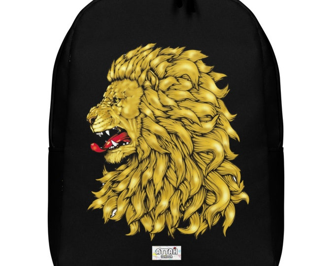 King Lion Minimalist Backpack