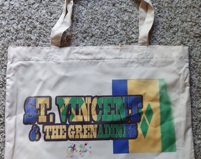 St Vincent and the Grenadines Tote Bag