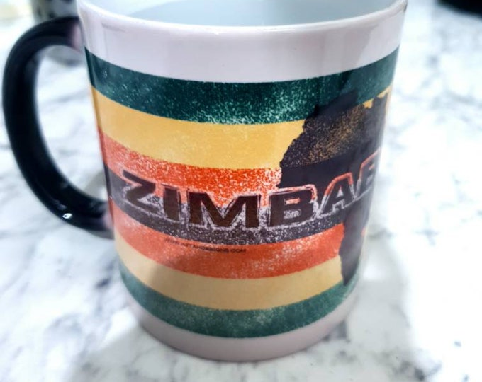 Zimbabwe heat and reveal mug