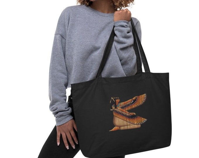 Large organic Maat tote bag