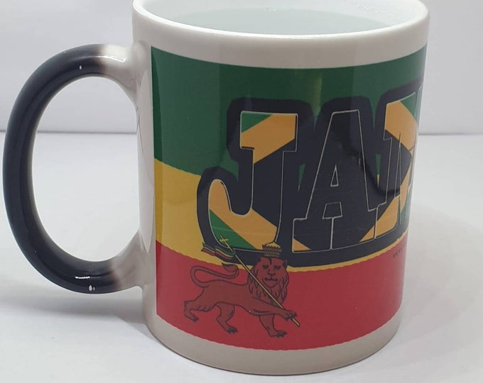 Jamaica heat and reveal mug