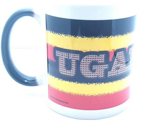 Ugandan heat and reveal mug