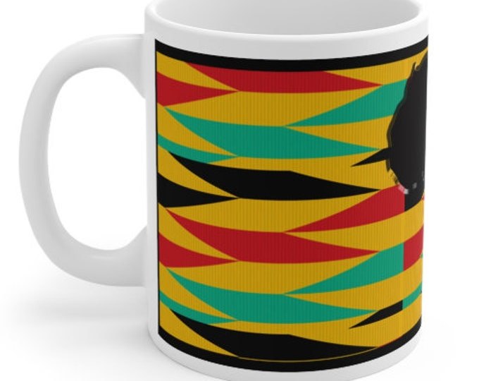 African Continent Mug