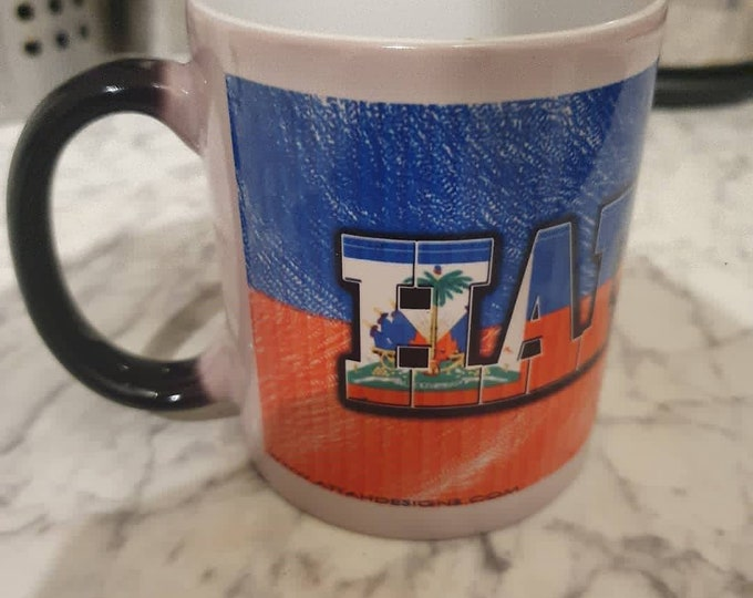 Haiti heat and reveal mug