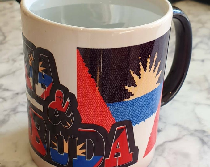 Antigua and Barbuda Heat then reveal mug