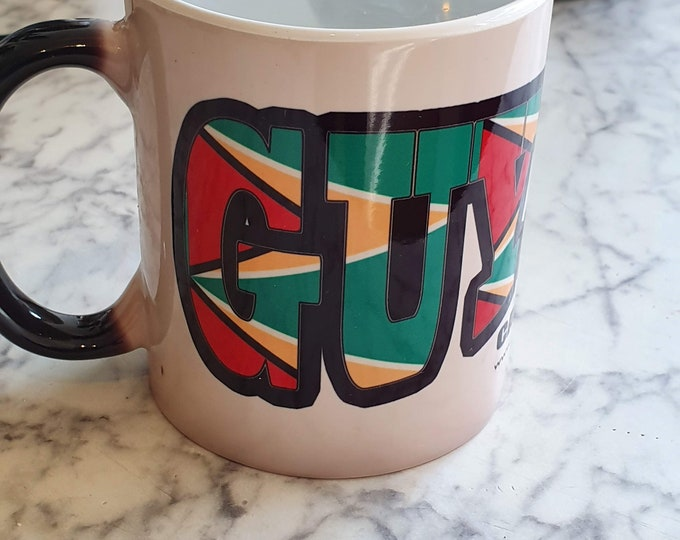 Guyana Heat and reveal Mug